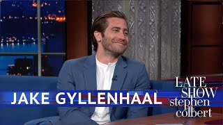 Download Is Jake Gyllenhaal Dropping Tom Holland For Stephen Colbert? Video