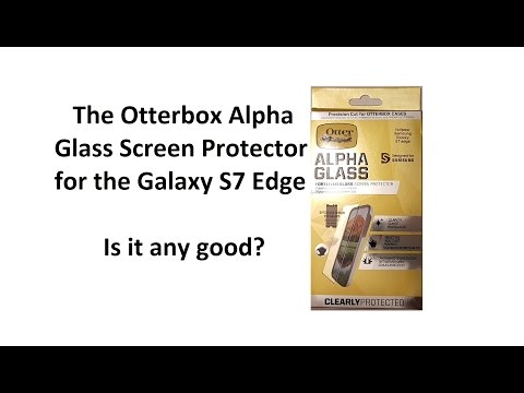 Otterbox Alpha Glass Screen Protector for the Samsung Galaxy S7 Edge