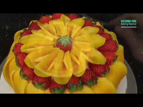 芒果蛋糕 Mango Cake