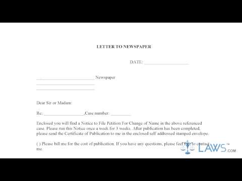 Form IL Change of Name Packet