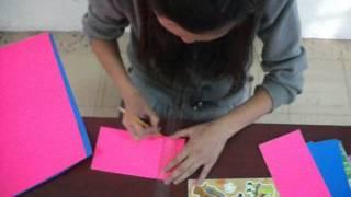 En este video podras observar como elaborar una carta magica para regalar en cualquier ocaciòn