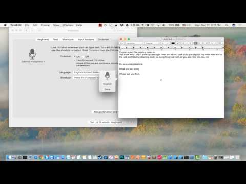 How to improve your English speaking skill by using Apple dictation on Mac OS