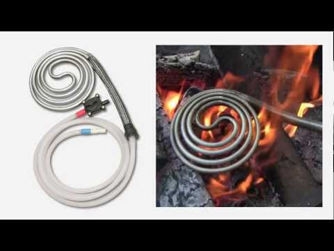 ShowerCoil Portable Water Heater and Solar Camping Shower System - Part 1 of 2