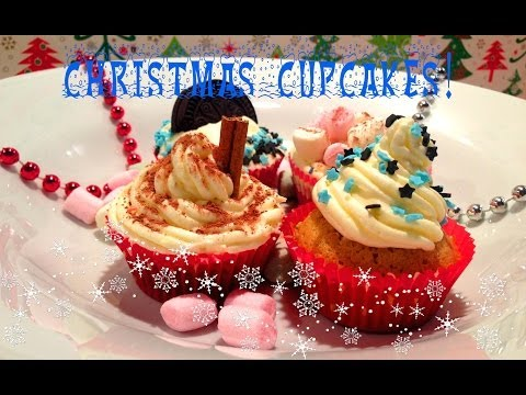 ❉ Christmas Cupcakes ideas | How to make Xmas cupcakes | It's Time to Cook!