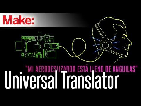 Weekend Projects - Universal Translator