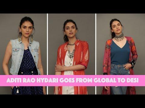 Aditi Rao Hydari Goes From Global To Desi In Seconds