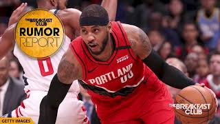 Carmelo Anthony Shares How Lebron James Saved His Life