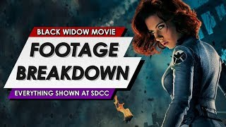 Black Widow: Official SDCC First Footage Explained | Full Scene Breakdown And Reaction