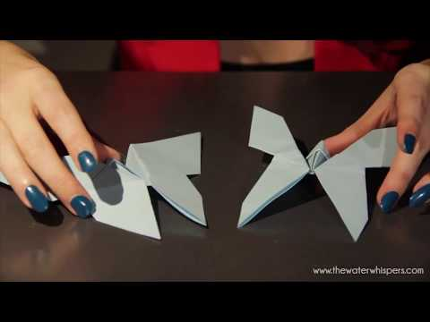 How to make an Origami Paper Heart & Butterfly?