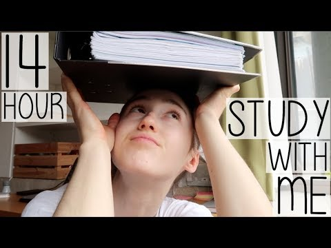 FULL DAY 14 HOUR REVISION STUDY WITH ME IN 14 MINUTES | EXAM SEASON DIARY #005