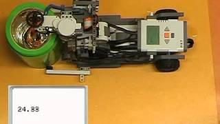 NXT kísérlet - Sav és lúg reakciója 1