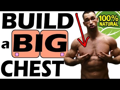 5 Best Exercises to Build a BIG CHEST Fast & Naturally at Home with Dumbbells | for men mass at gym