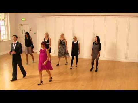 Learn to dance FOXTROT Ballroom class for beginners 1 of 3