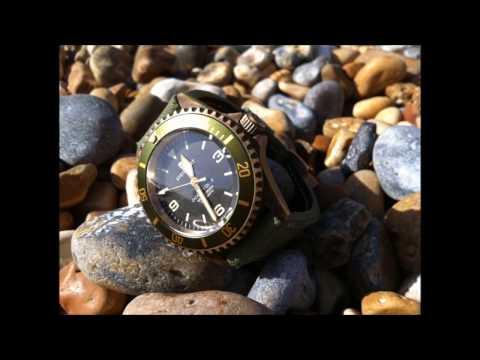 Developing Patina on a Steinhart Bronze Watch