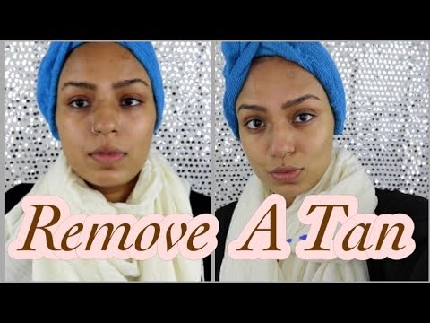 HOW TO REMOVE A TAN NATURALLY- DIY TREATMENT
