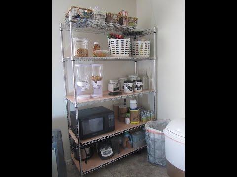 Open Pantry Organization