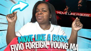 #MolveLikeABoss Fivio Foreign, Young M.A - Move Like a Boss | GIRLFRIEND REACTS