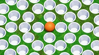 NEVER ENDING HOLE IN ONES! - Golf It