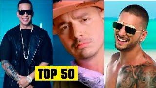 Reggaeton 2016 Top 50 Lo mas escuchado del 2016   Maluma, Daddy Yankee, J Balvin, Nicky Jam, Farruko