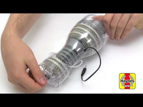 Haynes Build Your Own Jet Engine Kit. Assembly Video