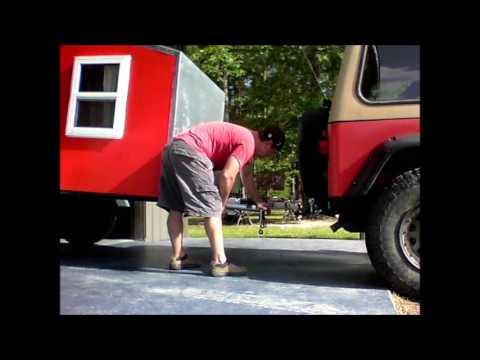 Home Built Off Road Camper  (Building the fenders)