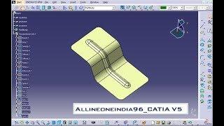 ADWANCED PART DESIGN IN CATIA V5_CATIA V5 TUTORIAL_RIBS,STIFFENERS