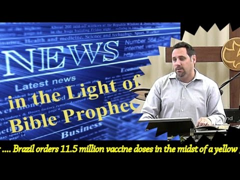 PROPHECY UPDATE JAN 29, 2017 - YELLOW FEVER OUTBREAK IN BRAZIL
