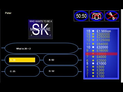 C# Tutorial - Who Wants To Be A Millionaire