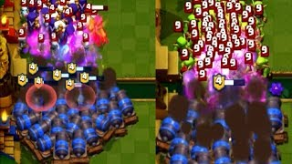 Clash Royale Cannon Cart Funny Moments & Glitches & Fails & Satisfying