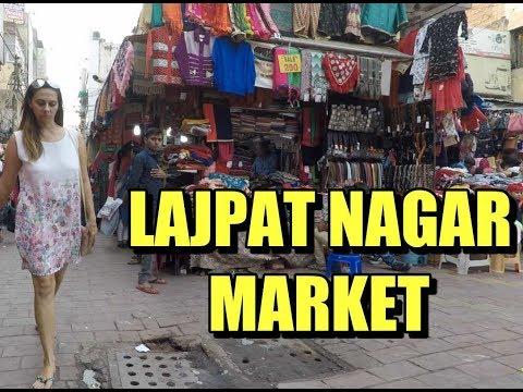 Lajpat Nagar Market Delhi | Sights and Sounds POV