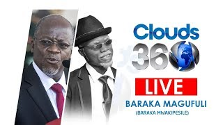 LIVE: Exclusive_Clouds 360 na Comedian Baraka Magufuli