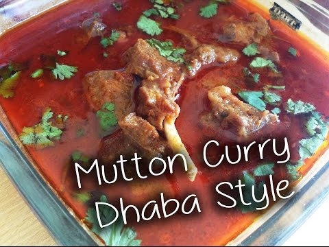 Mutton Curry Dhaba Style Recipe By  Chef Shaheen