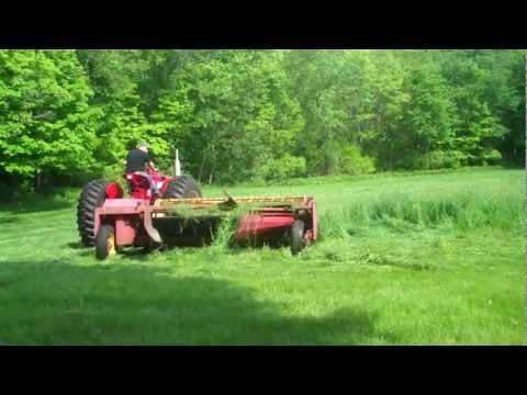 My first Cutting of small hay field  2011 hay season