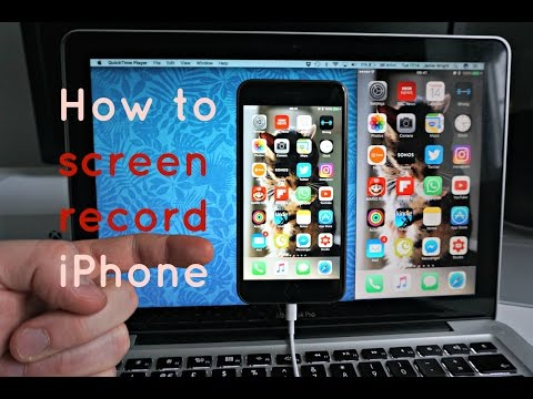 How to screen record your iPhone