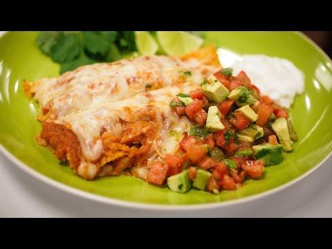 Recipe Rehab Season 1 Recipe How-To: Turkey and Cheese Enchiladas