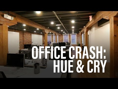 We CRASHED Hue & Cry's Office!!
