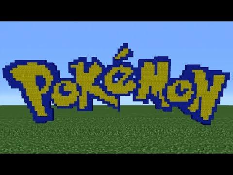 Minecraft Tutorial: How To Make The Pokemon Logo