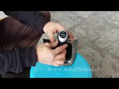 ICT Schaltknauf Einbauhilfe Honda CRV Tutorial How To Change gear knob remove