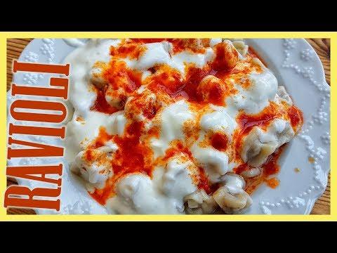How to Make Turkish Ravioli | Manti Recipe with Yogurt Sauce
