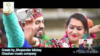 Himachali Djsong_kajrare_video InderJeet mix 2018 by Bopender Mickey