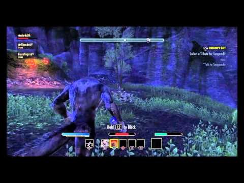 ESO How I became a werewolf