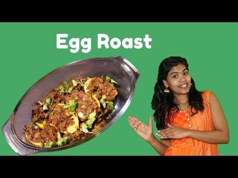 How to make Dry Egg Roast | Egg Masala Roast 😋😋😋