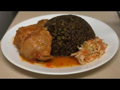 How to Make Diri Djon Djon Rice (Haitian Black Rice)