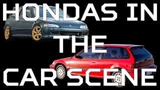 Hondas in the Car Scene