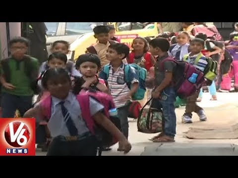 RTA Department Focus On School Bus Fitness As Schools To Re Open From June 2 | V6 News