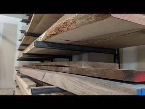 Welding Up A Lumber Rack (Shop Organization)
