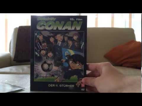 Unboxing: Detektiv Conan -- 16. Film: Der 11. Stürmer