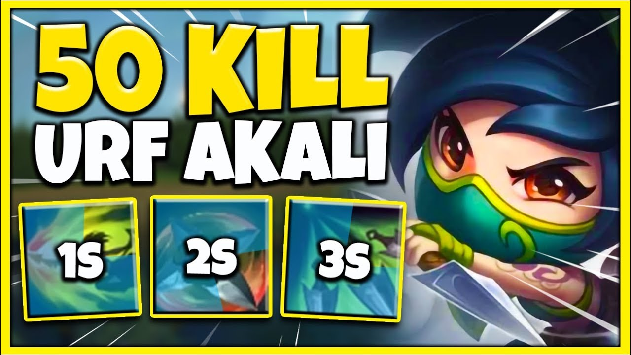 *URF IS BACK* MY HIGHEST KILL GAME IN HISTORY (AKALI MAIN VS. URF 2020) - League of Legends