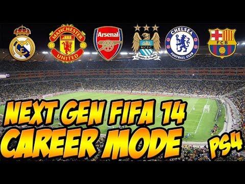 FIFA 14: Next Gen Career Mode - Pick A Team! Episode #01 (PS4)