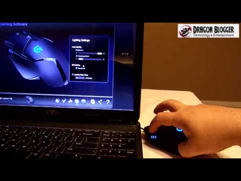 Working with the Logitech Hyperion Fury G402 Gaming Mouse